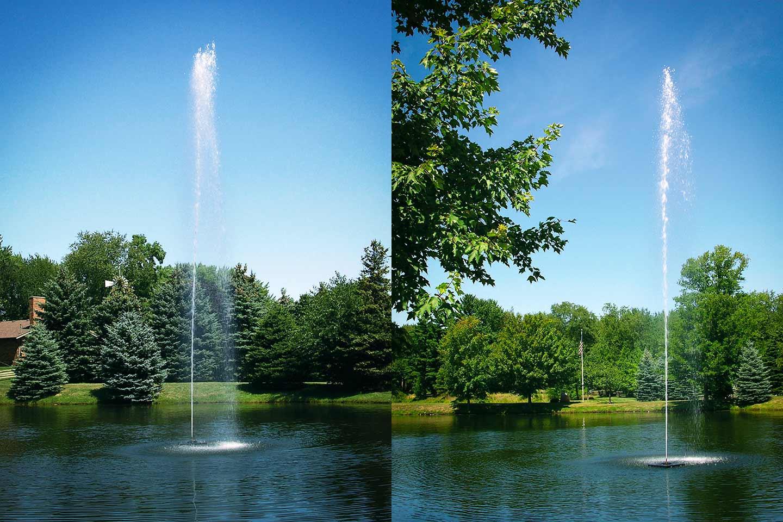 The Jet Stream Fountain Scott Aerator