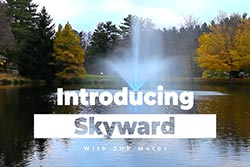 3-hp Skyward Fountain